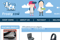 Frosty-Cow eBay Shop Design