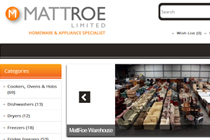 mattroe e-commerce Site